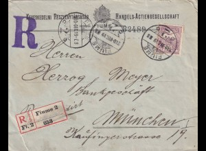Registered Fiume 1919 to München