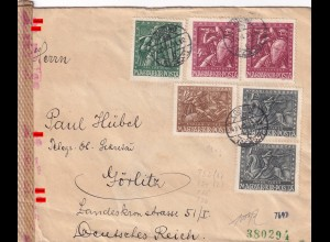 Losno to Görlitz 1943, OKW censor