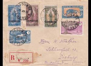 Cover Yaounde 1934 to Dieburg/Germany
