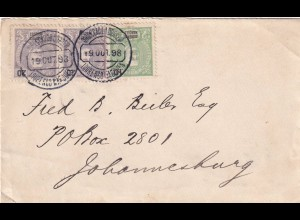 cover 1898 Lourenco Marques, Delago Bay to Johnesburg