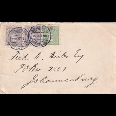 cover 1898 Lourenco Marques, Delago Bay to Johnesburg