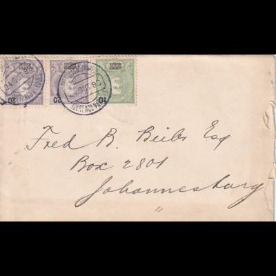 cover Lourenco Marques, Delago Bay to Johnesburg 1898