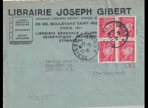 3x covers 1944 Paris und Feldpost nach Leipzig, OKW Zensur