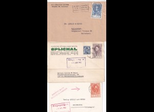 5x covers/card about 1950 to Heidelberg