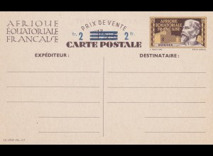 Post card Afrique Equatoriale