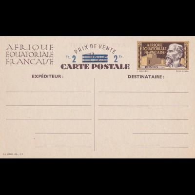 Post card Afrique Equatoriale