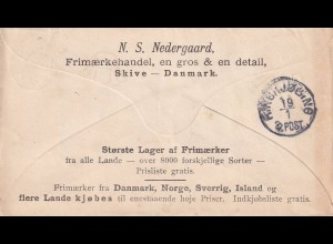 cover 1898 Skive to Ringkjobing