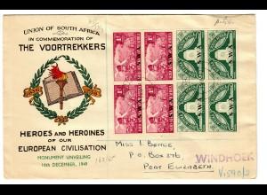 Windhoek: Union or South Africa, Heroes of European Civilisation 1949