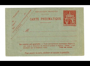 cover Carte Pneumatique, unused