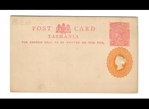 Post card Tasmania, unused 1950