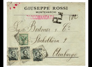 Montevarchi, registered to Hamburg 1907