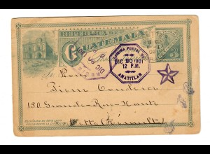 Post card 1901 to Gette