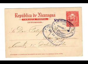Post card 1906 Granada 1906