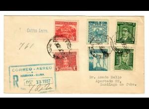 Habana to Santiago, 1937