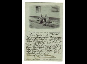 Photo Post card Paramaribo 1905 to Gelnhausen/Germany