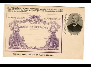 Anscihtskarte Armée de Bretagme