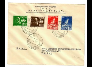 Brief Oslo FDC 1941