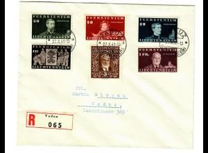 Einschreiben Vaduz 1941