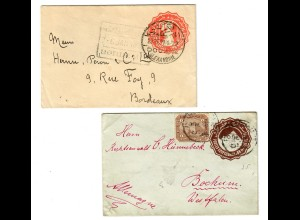 2x covers to France/Germany
