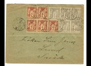 Brief aus Paris 1920 nach Lund