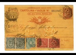 Geldanweisung Gatanzaroi nach Riziolo 1893