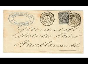 Amsterdam 1896 nach Deutschland