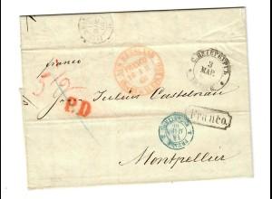 Rus: 1866: St. Peterburg nach Montpellier