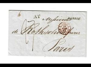 Rus: 1842: Odessa nach Paris - Rothschild