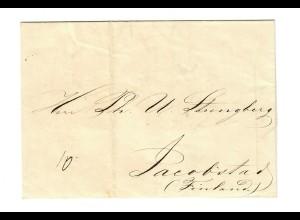 Rus: 1855: St. Petersburg nach Finnland