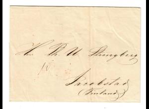 Rus: 1856: St. Petersburg nach Finnland