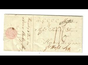 Rus: 1791: St. Petersburg nach Le Havre über Daveid Barkley, Königsberg