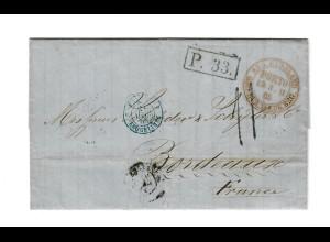 Rus: 1865: St. Petersburg nach Bordeaux