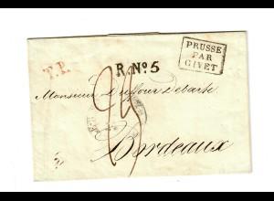 Rus: 1821: St. Petersburg nach Bordeaux
