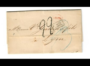 Rus: 1871: Brief nach Lyon