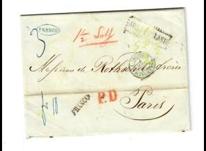 Rus: 1860 Berdyczew nach Paris