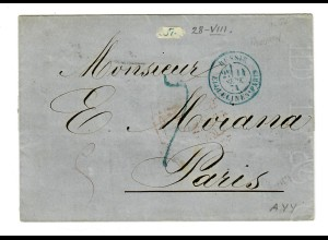 Rus: 1874: Moskau nach Paris
