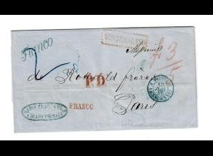 Rus: 1817: Ukraine Berdytscheff nach Paris