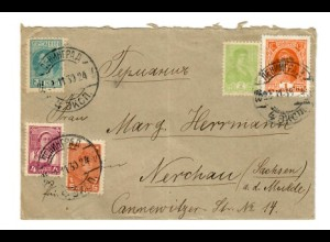 Rus: 1930: Brief nach Nerchau