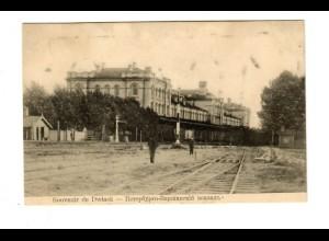 Rus: 1909: Ansichtskarte Dwinsk/Lettland Dangarpils