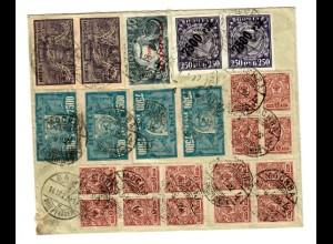 Rus: 1922: R-Brief Moskau nach Basel