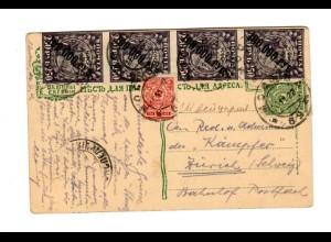 Rus: 1922: Ansichtskarte Lwow, Kathedrale nach Zürich