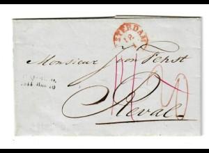 Rus: 1844: Brief nach Reval über Amsterdam/Emmrich