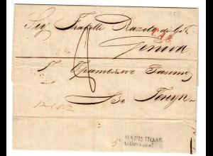 Rus: 1853: Marianopol nach Genua über Wien