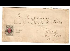 Rus: 1875 Brief nach Reval