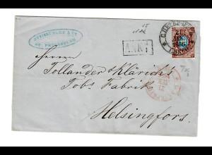 Rus: 1866 St. Petersburg nach Finnland/Helsingfors