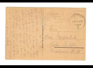 frühe Feldpost, Ansichtskarte Tschenstochau, 12.9.39, FPNr. 19126 nach Berlin