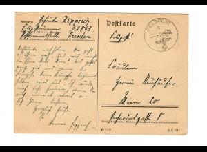frühe Feldpost, 24.9.39, FPNr. 02863 nach Wien