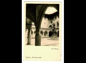 GG 1943 Feldpost: AK Krakau alte Universität, Reserve Lazarett
