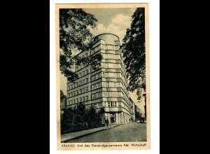 GG 1940 Feldpost: AK Krakau Amt des GG, Abt. Wirtschaft