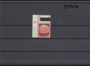 GG: Generalgouvernement MiNr. 4, **, postfrisch, DKZ 15L1b